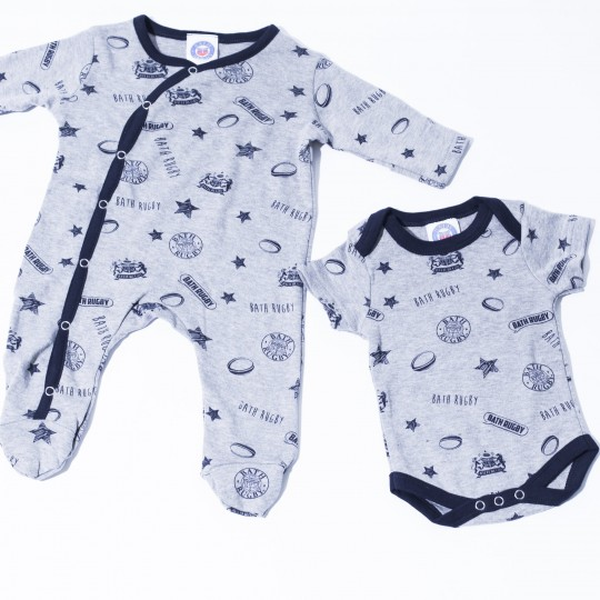 Baby Bath Rugby Little Supporter Sleep Set