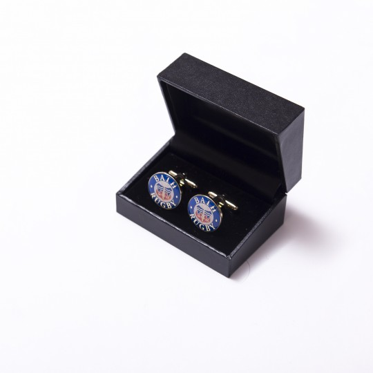Bath Rugby Gold Cufflinks
