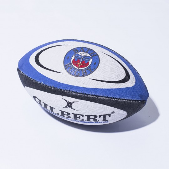 Bath Rugby Official Gilbert Replica Ball - Mini
