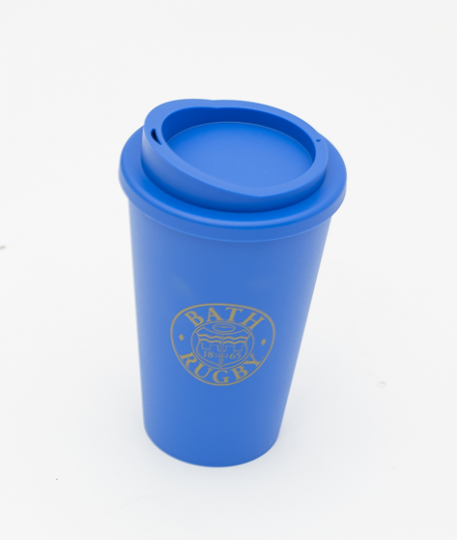 Bath Rugby Reusable Cup - Blue