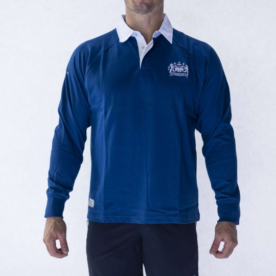 Mens Bath Rugby 1865 Classic Rugger - Royal Blue
