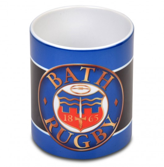 Bath Rugby Block Striped Mug
