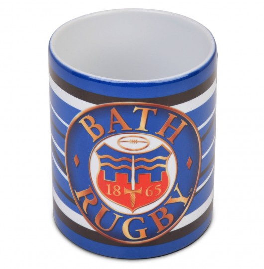Bath Rugby Attacking Lines Mug