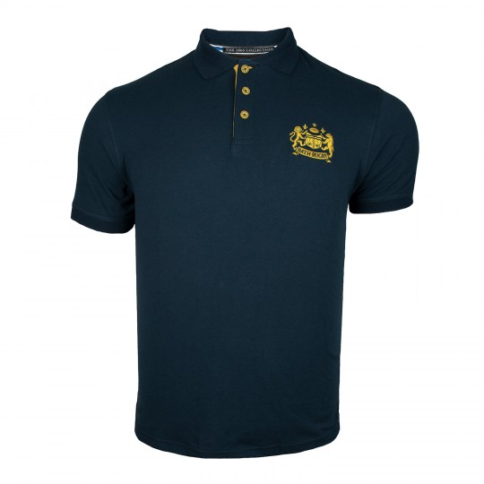 Bath Rugby Mens Pique Tipped Polo