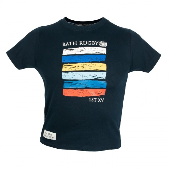 Bath Rugby Mens Brushstroke Graphic Tee