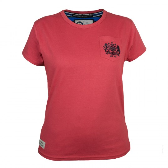 Bath Rugby Womens Pocket Logo Tee