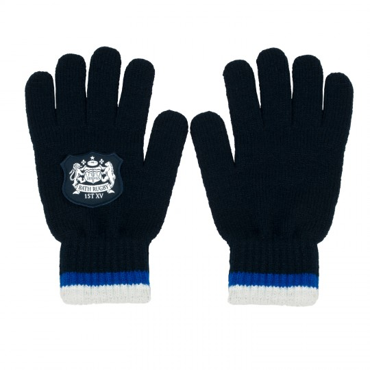 Bath Rugby Double Tipped Gloves