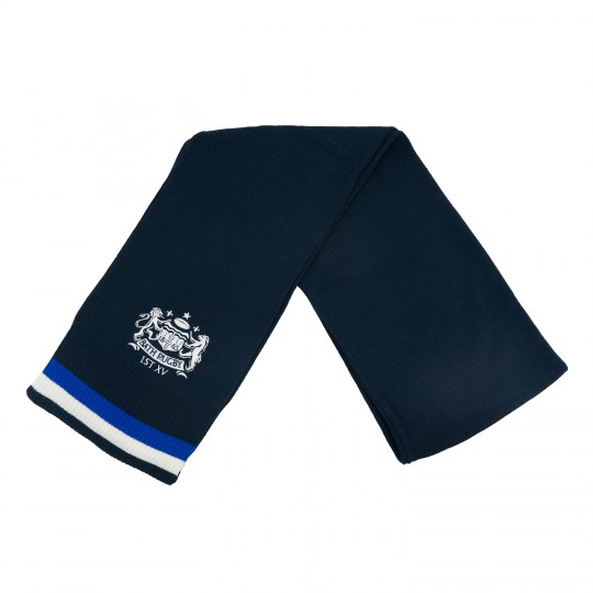 Bath Rugby Double Tipped Logo Scarf