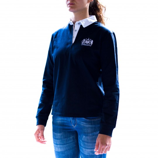 Womens Bath Rugby 1865 Marley Rugger - Navy