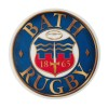 Bath Rugby Round Car Sticker