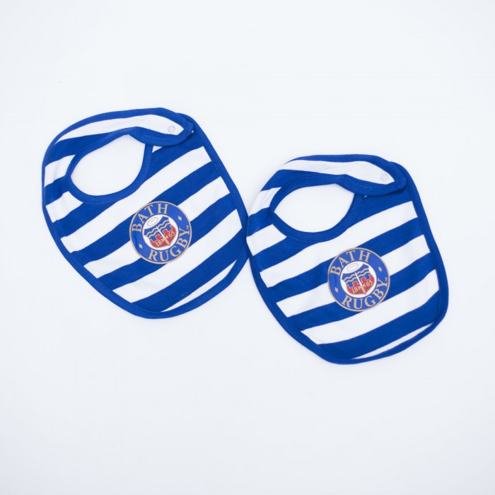 Hooped Logo Bibs 2pack