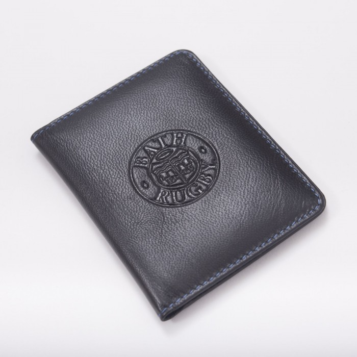 Bath Rugby Folding Card Holder - Black