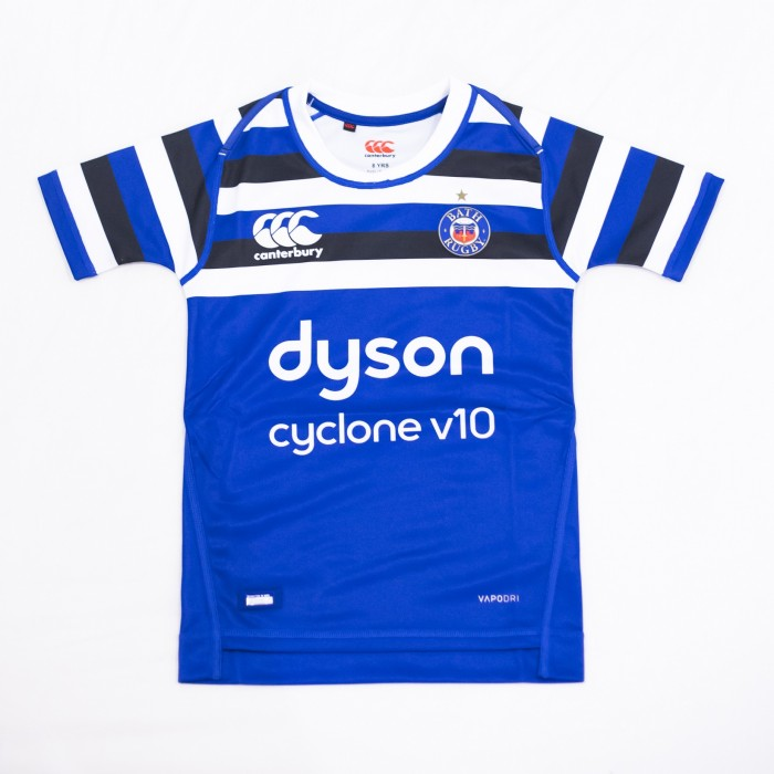 Junior Bath Rugby Canterbury Home Shirt 18/19