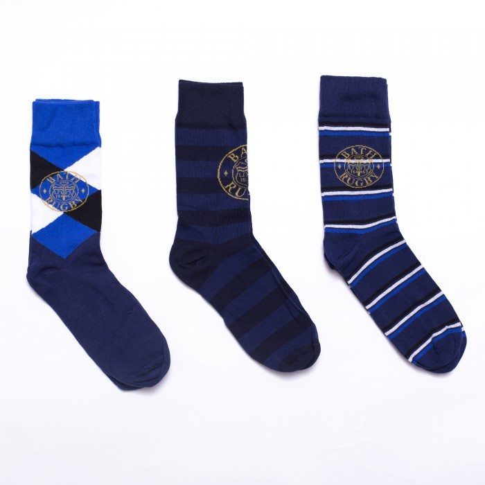 Mens 3 Pack Socks