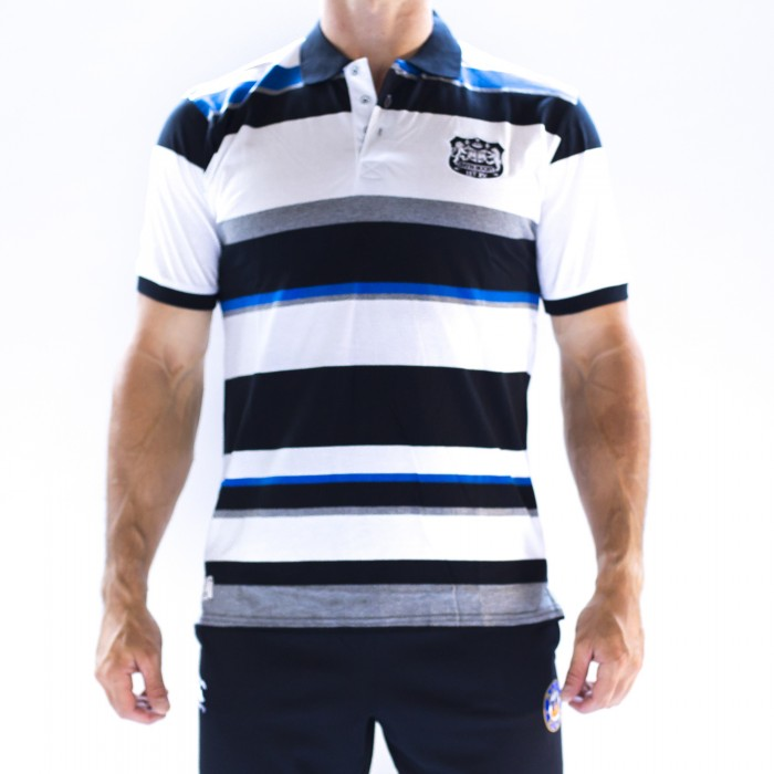 Bath Rugby 1865 Block Stripe Polo