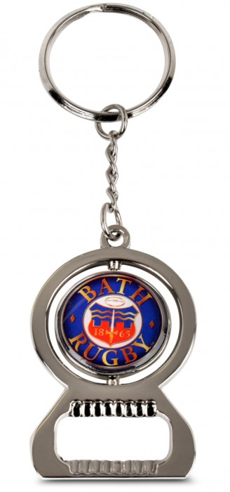 Bath Rugby Keyring and Bottle Opener