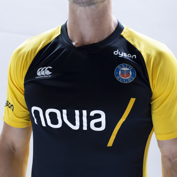 Bath Rugby Canterbury Superlight Tee - Yellow