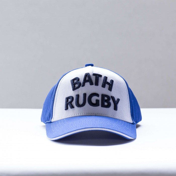 Bath Rugby 1865 Kids High Build Cap - Blue