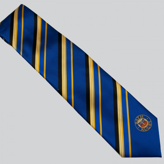 Bath Rugby Spectra Yellow Tie