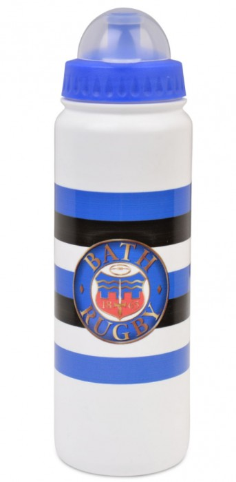 Bath Rugby Striped Logo Water Bottle
