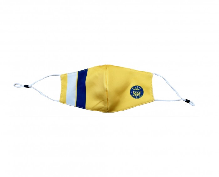 Bath Rugby Face Cover Yellow
