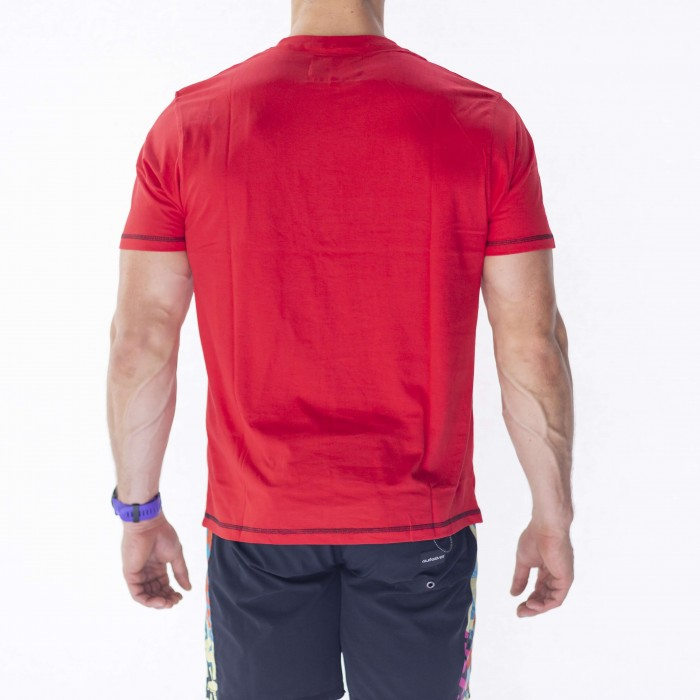 Bath Rugby 1865 Running Tee - Red